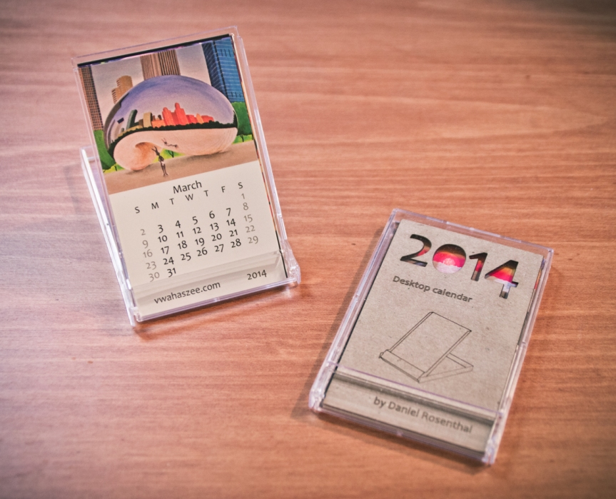 2014 Desktop Calendars now available